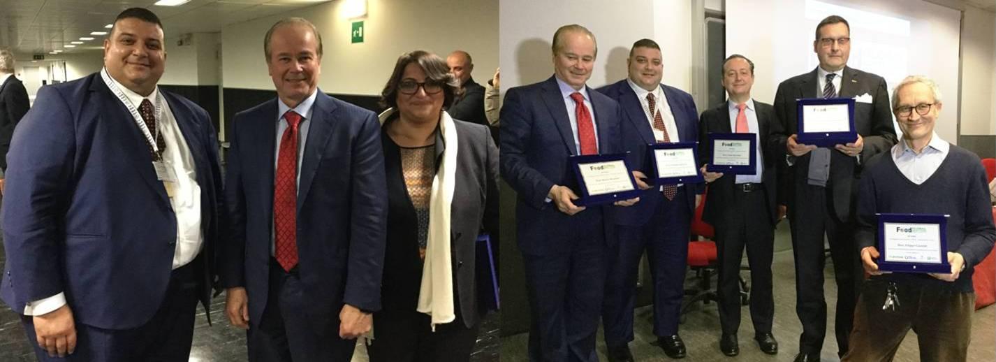 Dr. Claudio Gallottini (ITA Corp.), Prof. Robert Brackett (IFSH), Dott.ssa Noemi Trombetti (ESI Srl) - Milano Università Città Studi 8 Marzo 2017